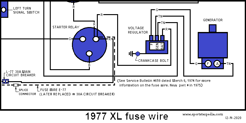Ironhead Illustrated Wiring Diagrams Page 2 The Sportster And Buell Motorcycle Forum The Xlforum